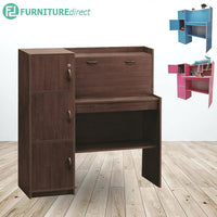 FAYNE Kids Study Desk with Bookcase