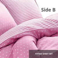 Relax Mirni Fitted Sheet Set / Quilt Cover Set