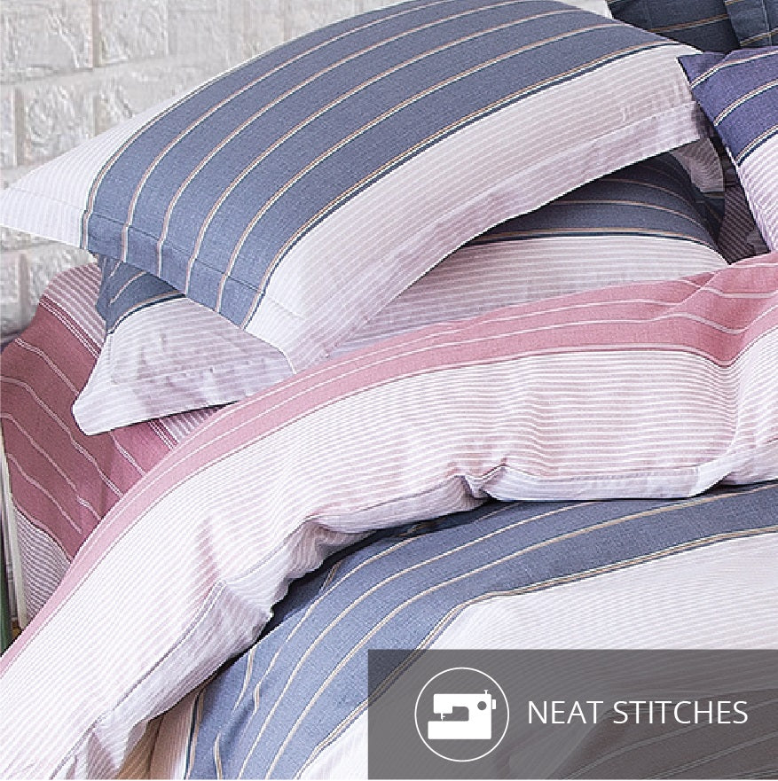 Aussino Inspire Horizon Fitted Sheet Set / Quilt Cover Set