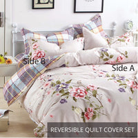 Relax Hilda Fitted Sheet Set / Quilt Cover Set