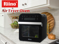 Riino Multi-purpose Digital 16 Preset Menus Air Fryer and 360° Rotisserie Oven (AF510T)