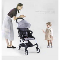 Osuki Compatto Light Weight Stroller Compact One-hand Fold Baby Stroller - Free Bag