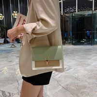 Mini PU Schoulder Bags Woman's Crossbody Tassen Bag Fashion Tas Messenger Portemonnees Female Voor Vrouwen Coins Tote