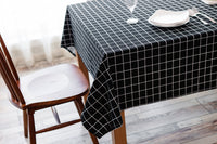 Table Cloth Linen Rural Square Tablecloths Rectangular Dinner Table Cover Coffee Table Tea Home Decoration Textile