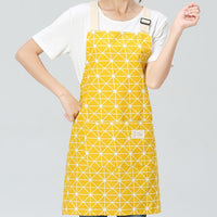 SINSNAN New Hot Fashion Lady Women Men Adjustable Cotton Linen High-grade Kitchen Apron For Cooking Baking Restaurant Pinafore
