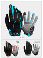 CoolChange Cycling Gloves Touch Screen GEL Bike Gloves Sport Shockproof MTB Road Full Finger Bicycle Glove For Men Woman