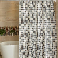 GIANTEX Plaid Bathroom Curtain Waterproof Shower Curtains For Bathroom Cortina Ducha rideau de douche douchegordijn U1269