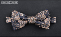 Formal commercial wedding butterfly cravat bowtie male marriage bow ties for men business lot SHENNAIWEI