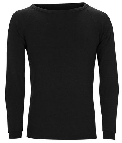Sherpa Merino Long Sleeve Thermal Black