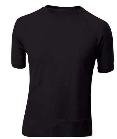Sherpa Merino Short Sleeve Thermal Black