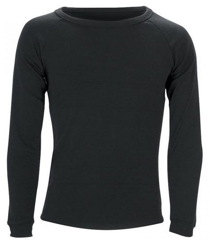 Sherpa Polypro Thermal Long Sleeve Top Black