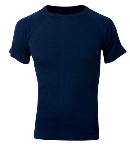 Sherpa Polypro Thermal Short Sleeve Top Navy