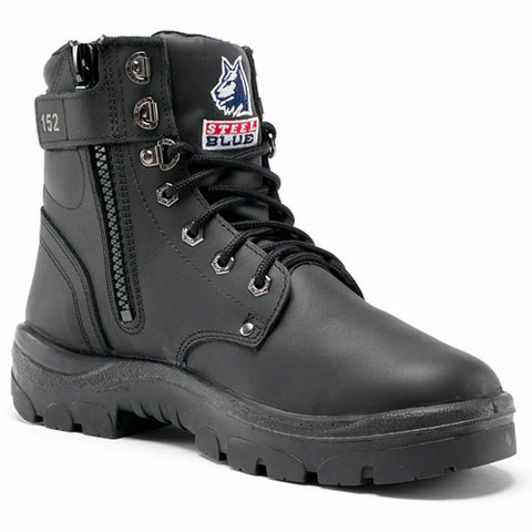 Steel Blue Argyle Zip Safety Boot 312152