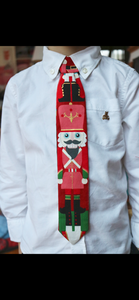 Custom Christmas Grow with Me Tie