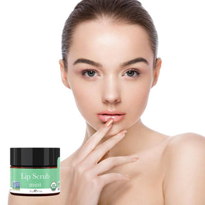Beauty by Earth Organic Lip Scrub Mint - Huulikuorinta