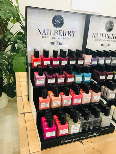 Nailberry Product Display - Kynsilakka Ständi