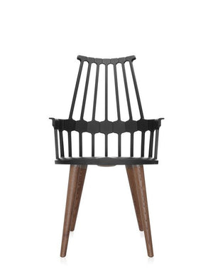 Comback Chair Wooden Legs by Kartell