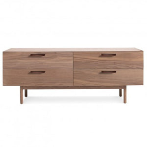 Shale 4 Drawer Dresser Walnut
