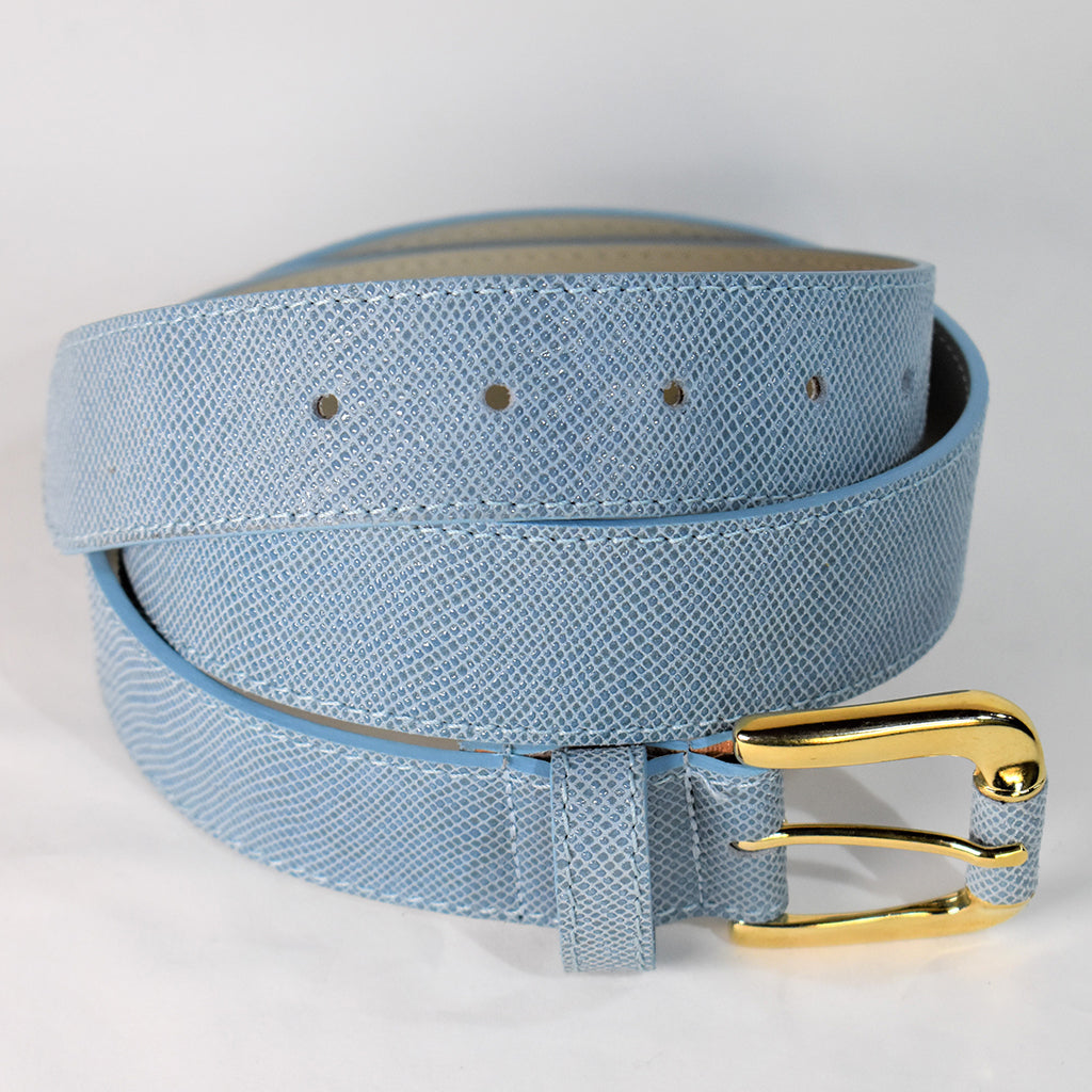 Blue Snake effect belt