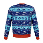 Surfing Santa Ugly Christmas Sweatshirt