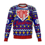 Home Run Baseball Inspired Ugly Christmas Sweatshirt - XS - S - M - L - XL - 2XL - 3XL - 4XL