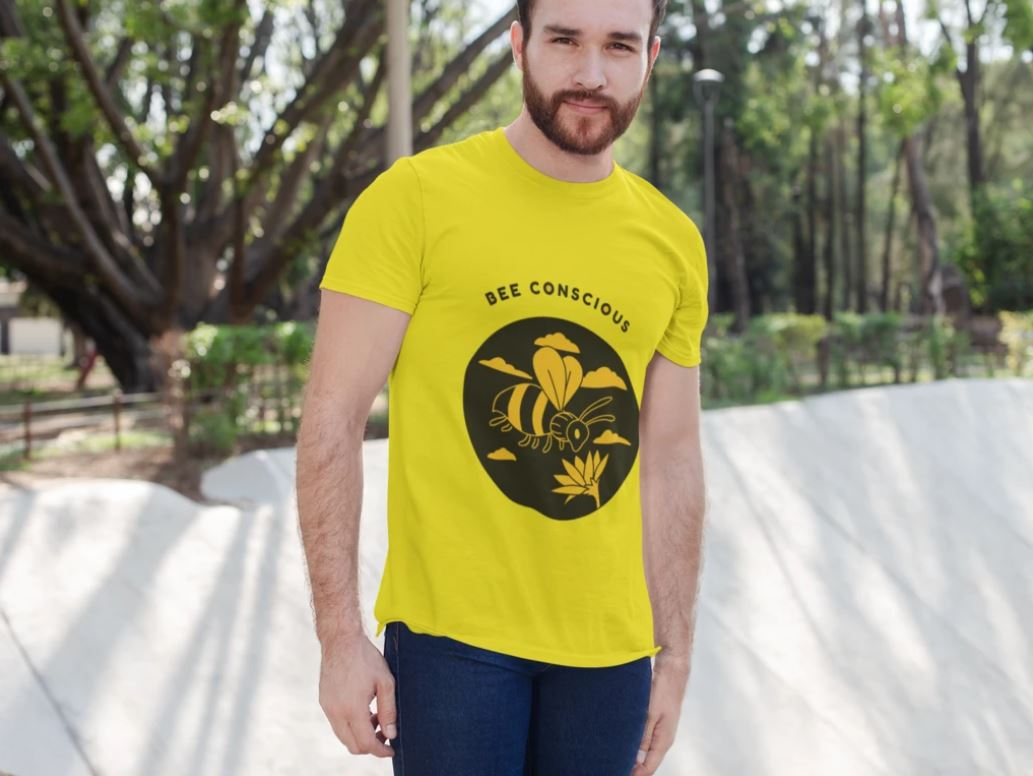 Bee Conscious Unisex T-Shirt