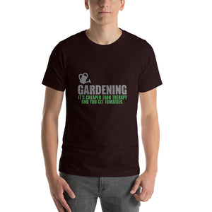 Funny T shirt for Gardeners - Oxblood Black / S - Oxblood Black / M - Oxblood Black / L - Oxblood Black / XL - Oxblood Black / 2XL