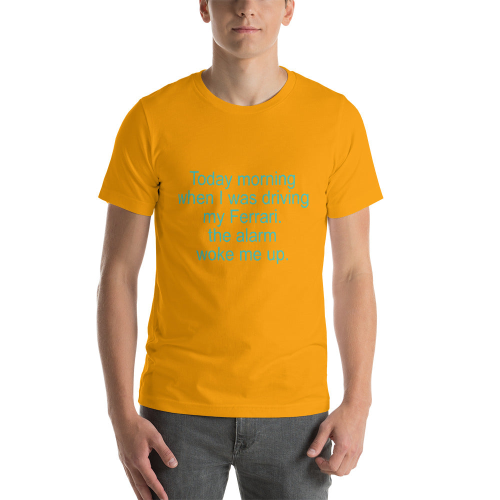Funny Unisex T-Shirt - Gold / S - Gold / M - Gold / L - Gold / XL - Gold / 2XL