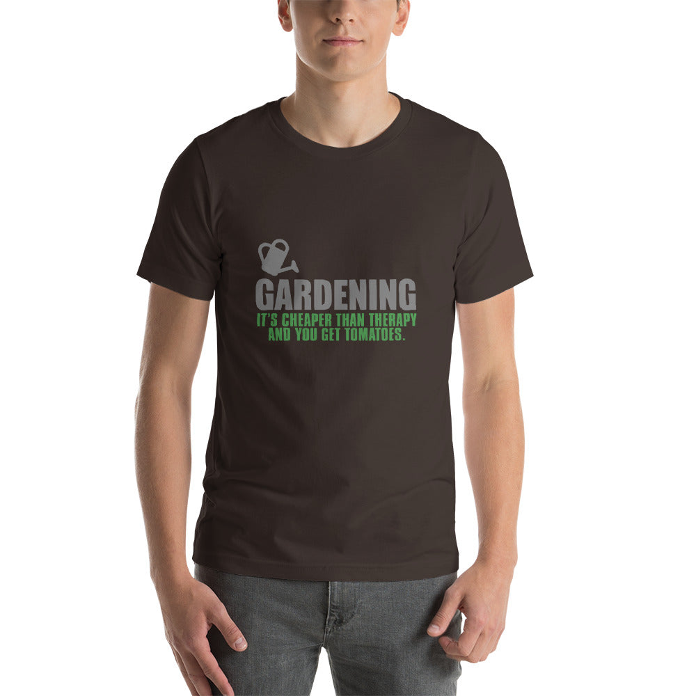 Funny T shirt for Gardeners - Brown / S - Brown / M - Brown / L - Brown / XL - Brown / 2XL