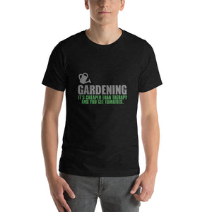 Funny T shirt for Gardeners - Black Heather / S - Black Heather / M - Black Heather / L - Black Heather / XL - Black Heather / 2XL