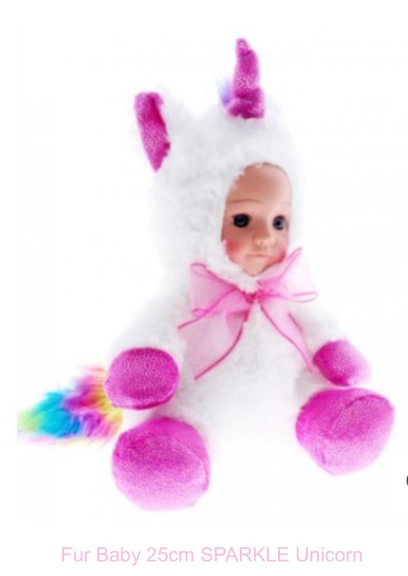 Plus Baby Doll Sparkle Unicorn