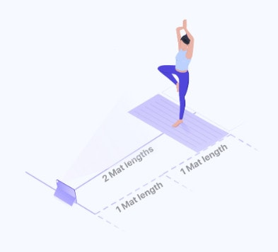 Space to do Yoga