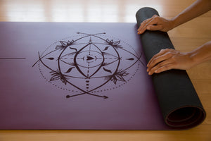 Sacred-Yoga-Mat-Non-Toxic-Rubber-Best-Selling-Purple-Geometry
