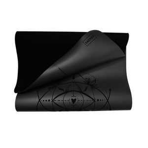 Sacred-Yoga-Mat-Non-Toxic-Rubber-Best-Selling-Black