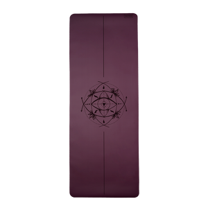 CORE SACRED EYE YOGA MAT (PURPLE PLUM)