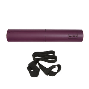SACRED EYE YOGA MAT (PURPLE PLUM)