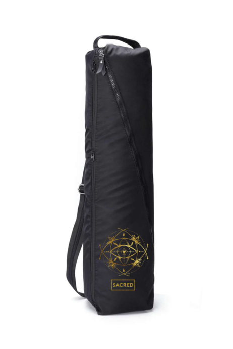 Yoga Mat Bag — Gold