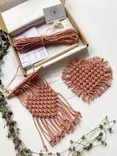 Load image into Gallery viewer, D.I.Y. Macrame Wall Hanging / Coaster Kit