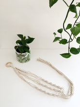 Load image into Gallery viewer, Beginner's D.I.Y. Macrame Plant Hanger Kit with Video
