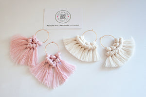 D.I.Y. Macrame Earrings