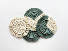 Load image into Gallery viewer, Macrame Coasters