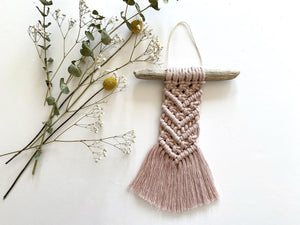 Dusty Pink Mini Hanging