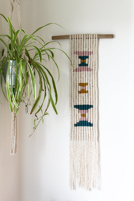 Navajo Pattern Wall Hanging - Large - MADE TO ORDER