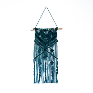 Teal Wall Hanging - Medium