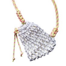 Load image into Gallery viewer, Macrame Crossbody Bag
