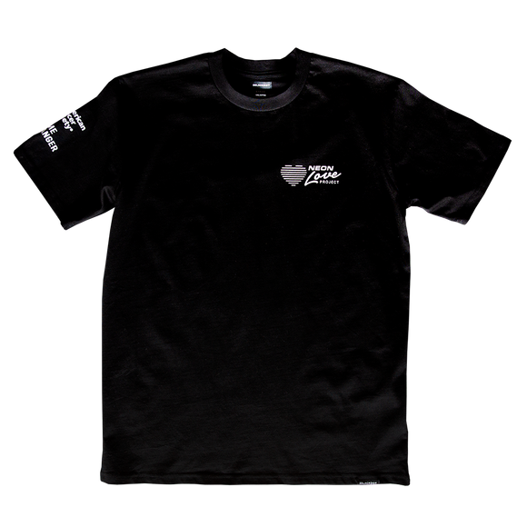 NEON LOVE PROJECT™ | NEON DEATH TEE (BLACK)