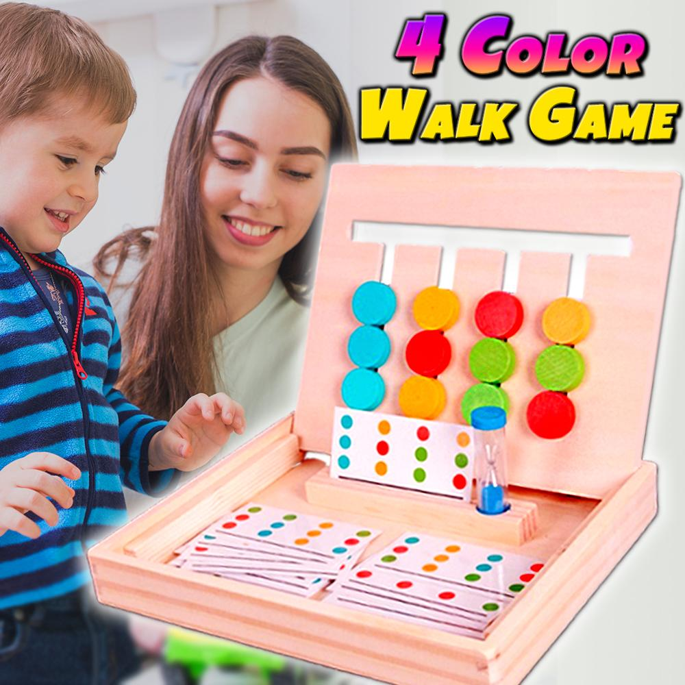 4 Color Walk Game