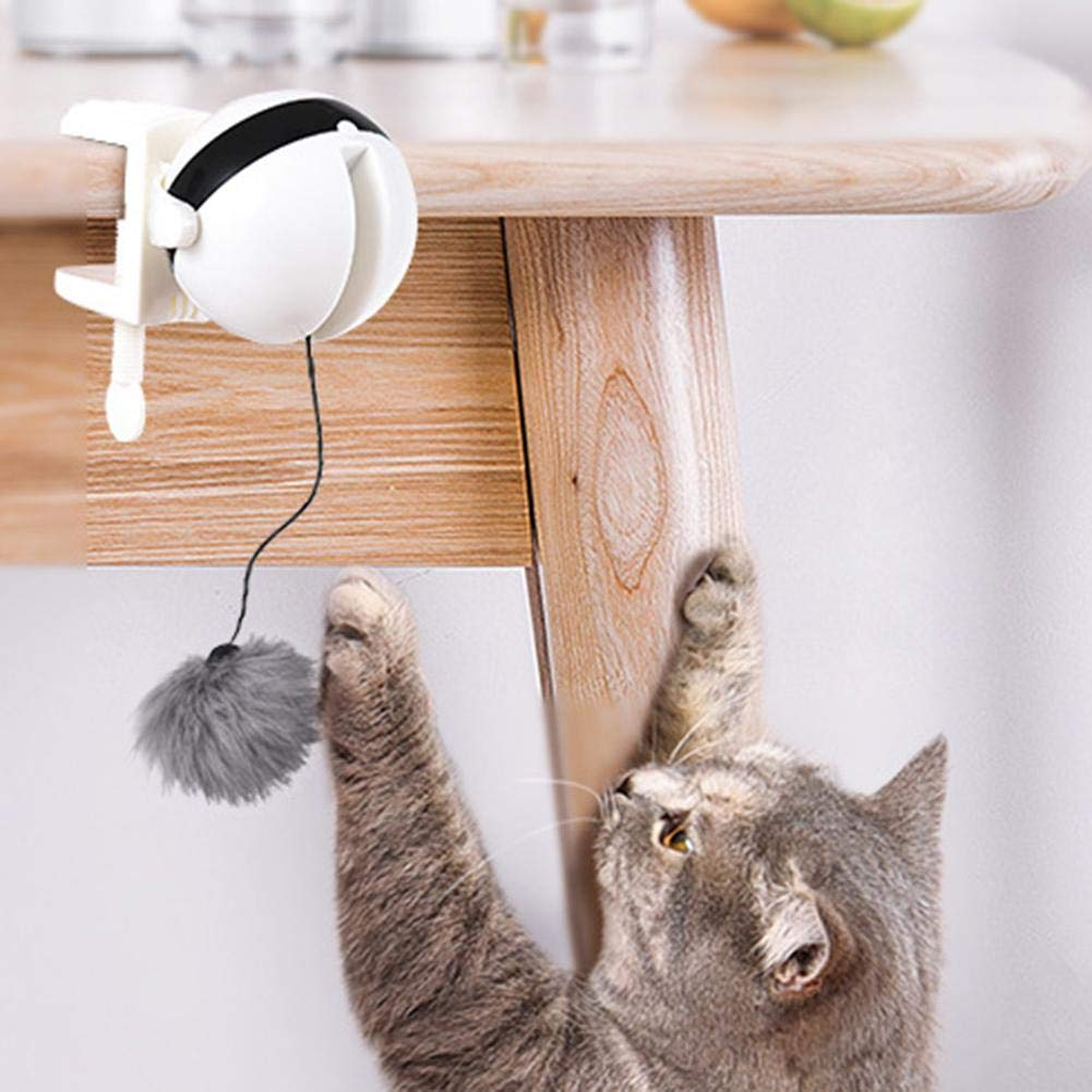 Auto Ball Lifting Cat Toy