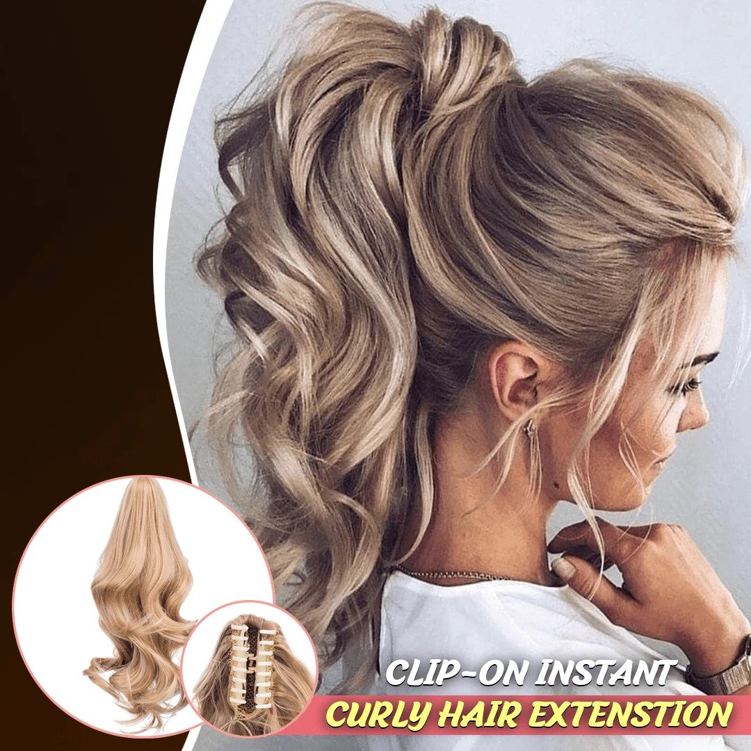 Claw-On Instant Ponytail Hair Extension