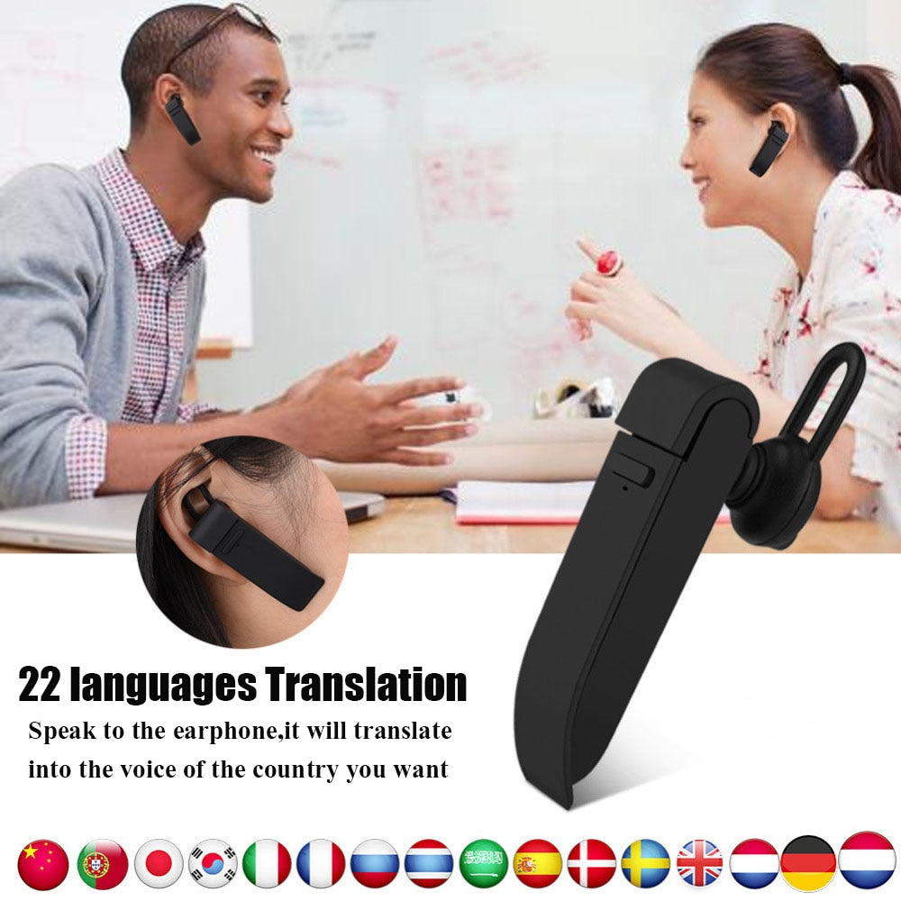 Multi-Language Wireless Earphone Translator